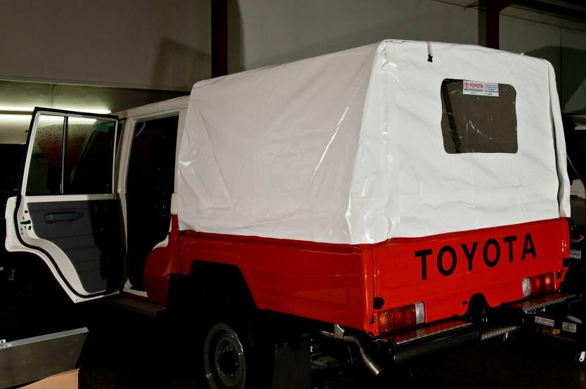 Tar Lc79 Dcb Land Cruiser 79 Double Cabin Pick Up Rear