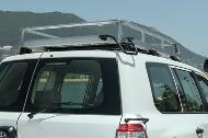 200 Series roof rack assembly and fitting instructions