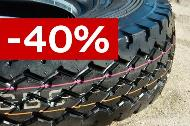 40% off selected tyres