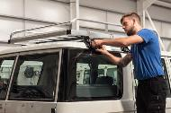 TGS TIPS - Heavy-duty roof rack assembly