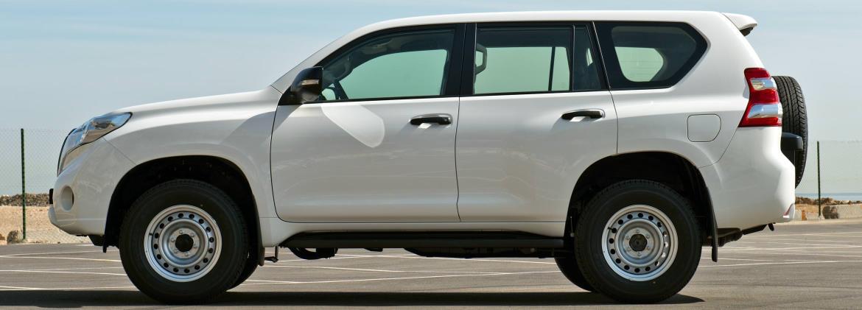 Diesel Toyota Land Cruiser LJ150-GKMEE - Land Cruiser Prado TX diésel 3,0L 7 places