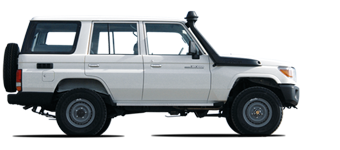 Hard-top Land Cruiser 76