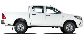 New Gen. Hilux RHD 2.5L Turbo Diesel 6 seater