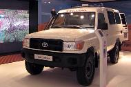 TGS ambulance features in Toyota exhibition in Paris