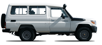 Land Cruiser 78 Hardtop de 6 plazas