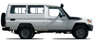 Land Cruiser 78 Hardtop de 13 plazas